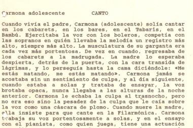 «Canto»