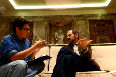 """""""La realidad ocurre al menos dos veces""""  Juan Villoro,  el maestro de la dispersión total."""