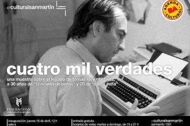 A 30 años de La novela de Perón y 20 de Santa Evita