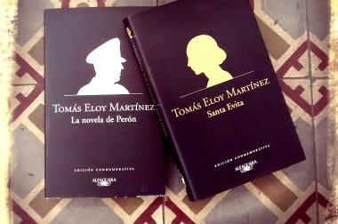 Presentamos las ediciones conmemorativas de La novela de Perón y Santa Evita