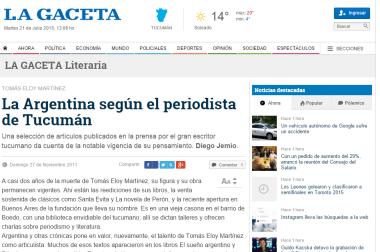 La Argentina según el periodista de Tucumán