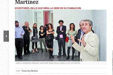 Tras los pasos de Tomás Eloy Martínez