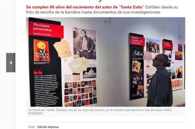 Recordar con amor: una muestra sobre Tomás Eloy Martínez
