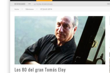 Los 80 del gran Tomás Eloy