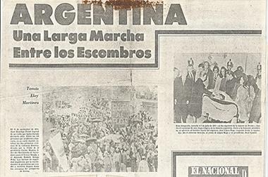 Argentina: una larga marcha entre los escombros