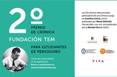 Ya te podés inscribir en la segunda edición del Premio Fundación TEM!