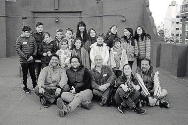 Un taller de fotografía para chicos que se divirtieron a lo grande
