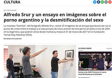 Alfredo Srur y un ensayo en imágenes sobre el porno argentino y la desmitificación del sexo