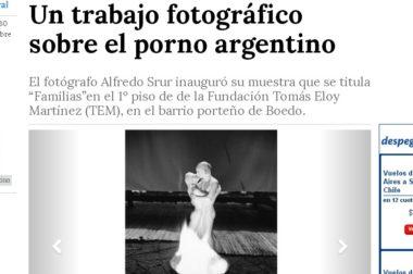 Un trabajo fotográfico sobre el porno argentino
