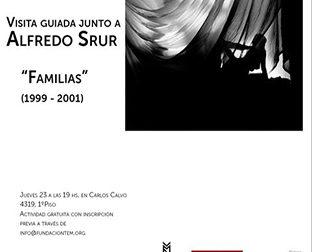 Nueva visita guiada de Alfredo Srur por su muestra «Familias»