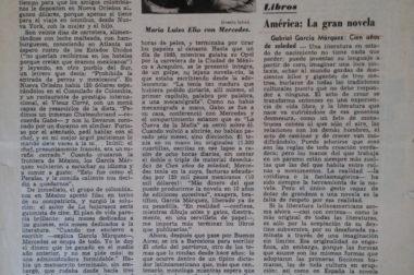 «La gran novela de América», un texto de Tomás Eloy Martínez