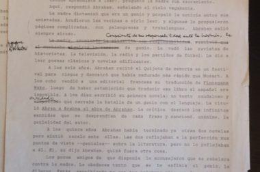 """""""Vida de genio"""" (un texto de Tomás Eloy Martínez)"""