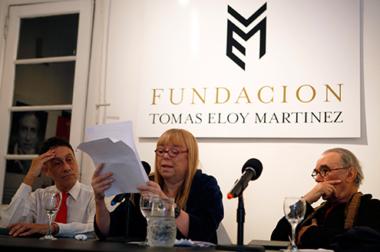"""""""Aún los textos periodísticos de María Moreno son literarios porque ellos son portadores de su arte singular, de su escritura"""""""