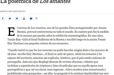 """La polémica de """"Los amantes"""""""