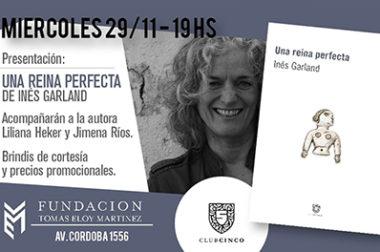 Presentación de libro de Inés Garland en Fundación TEM